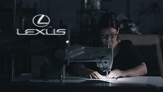 Lexus leather factory
